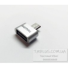 Переходник OTG USB-microUSB TM REMAX \ INKAX